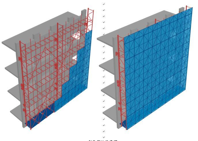 吉林冲孔爬架网如何安装施工