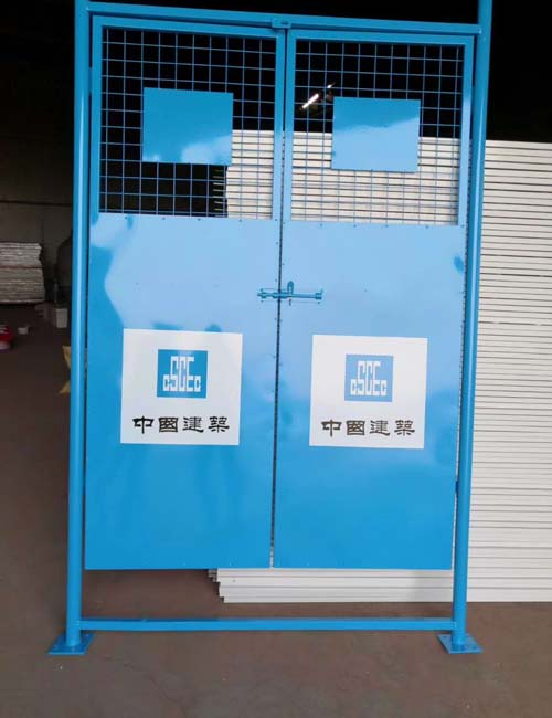 电梯井防护门2